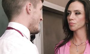 Mischievous breasty latin gf Ariella Ferrera is riding bf