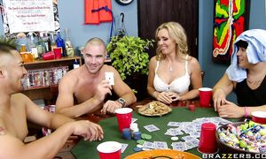 Succulent big titted Tanya Tate is desperate to get a good fuck