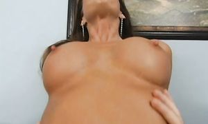 Savory busty brown-haired bitch Tabitha Stevens always wanted to have casual sex with a bf