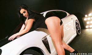 Delicious bosomed brown-haired Jayden Jaymes is ready for some intense and wild pounding