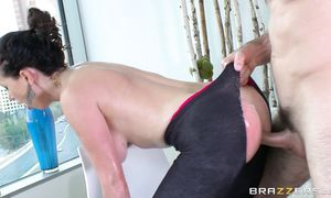 Appealing floosy Nikki Benz with giant tits is always ready for some very interesting ramming