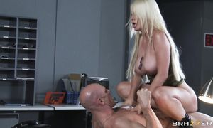 Startling big boobed Alexis Ford is ready for some horny act