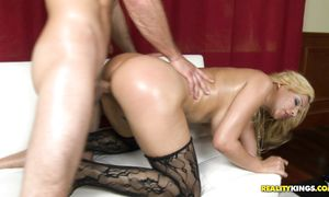Magical latin Paris with firm tits got fucked and got a nice facial spunk fountain