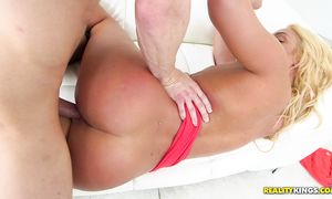 Amoral Keely Jones with huge tits yearns for some sweet hottie pot pounding