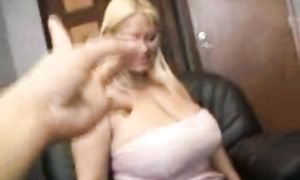 Good fuck is always a good choice for a seductive busty blond Samantha 38G