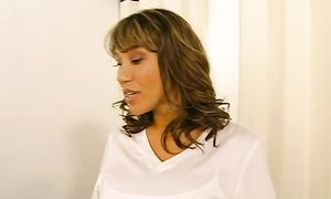 Wicked latin Ava Devine with impressive tits gets babe pot gangbanged