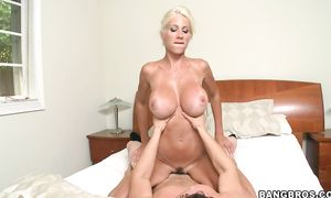 Lovely woman Puma Swede with firm tits engages in some truly hardcore fucking