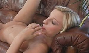 Charming perfection with firm tits is sucking playmate's pipe like a pro and getting fucked hard in return