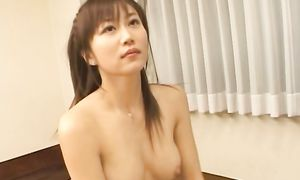 Pungent Yui Seto with round tits got fucked in the butt until she started moaning from pleasure like never before
