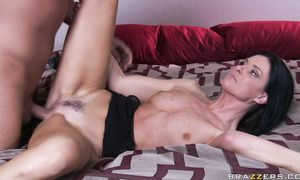 Divine India Summer takes a hardcore pounding doggy style