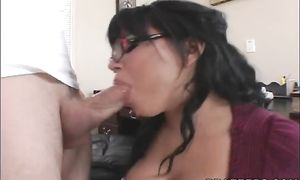 Mischievous asian playgirl Eva Angelina with impressive tits getting her beaver finger rubbed well