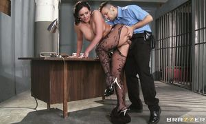 Extraordinary dark-haired lady Phoenix Marie with large tits is always ready for some extremely intense ramming