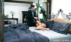 Worshipped Chloe Amour is getting screwed from the back and enjoying