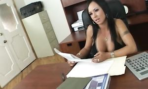 Topnotch big breasted gal Mariah Milano got stuffed with a rock hard cock