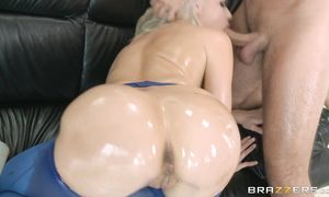 Anikka Albrite is frisky and she reaches an extremely giant agonorgasmos