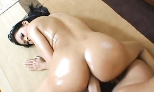 Breathtaking nipponese Priva receives a huge knob in her juicy gash