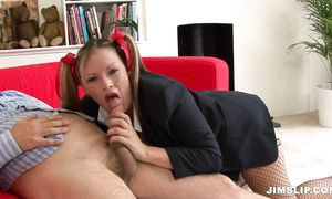 Astounding breasty diva Rebecca Ryder is squirting like no other girl while male is drilling her fanny